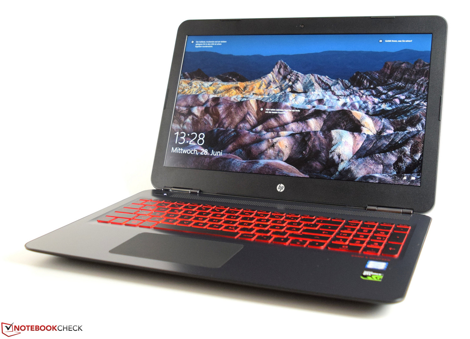 HP Omen 15t 2017 7700HQ GTX 1050 Ti Full HD Laptop