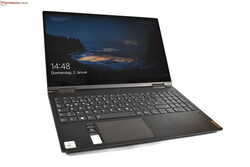 In review: Lenovo Yoga C740-15IML. Courtesy of