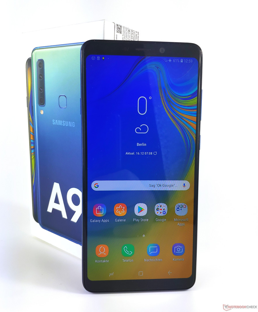 samsung galaxy a9 2018 smartphone review notebookcheck. Black Bedroom Furniture Sets. Home Design Ideas
