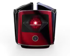 The video also presents red, blue and black Moto Razr variants. (Source: Weibo)