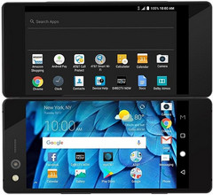AT&T-exclusive ZTE Axon M foldable Android smartphone (Source: ZTE USA)