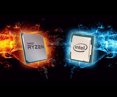 The upcoming Ryzen 7 4800H and Radeon RX 5600M mobility chips are ready to take on the Intel and Nvidia competition. (Image Source: nl.hardware.info)