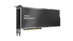 AMD Instinct MI100 HPC accelerator. (Image Source: AMD)