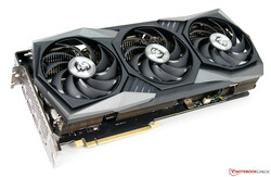 The MSI GeForce RTX 3070 Gaming X Trio - Provided by MSI Germany