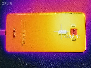 Thermal image of the ZenFone 3 Deluxe