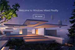 Windows Mixed Reality support comes with the Fall Creators Update for Win 10. (Source: Microsoft)