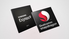 The Exynos 8895 and Snapdragon 835 go head to head in the Samsung Galaxy S8. (Source: Gizmo Times)
