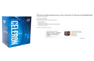 Celeron G4900 (Source: Amazon)
