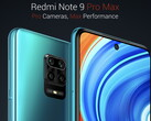 The Redmi Note 9 Pro Max has received another Stable Beta MIUI 12 (Image source: Xiaomi)