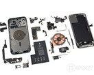 iPhone 12 Pro Max teardown reveals generous image sensor but rather small battery (Source: iFixit)