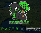 Sneki Snek makes tree-saving progress. (Source: Razer)