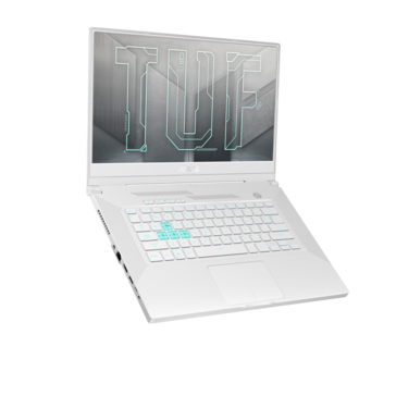 Asus TUF Gaming Dash F15 white (image via Asus)