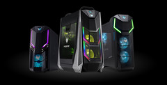 The Acer Predator Orion gaming desktops offer a range of CPU and GPU options. (Source: Acer)