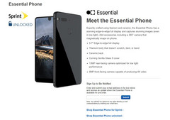 A screenshot of Best Buy's landing page for the Essential Phone. (Source: BestBuy.com)