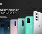 OnePlus had a very good quarter in Europe. (Source: OnePlus)