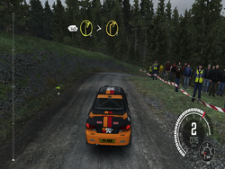 """Dirt Rally"" from the end of 2015 can be played, but only at low details"