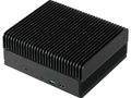 The ASRock iBOX fanless barebone features a Realtek LAN chipset and an Intel LAN chipset. (Source: ASRock)