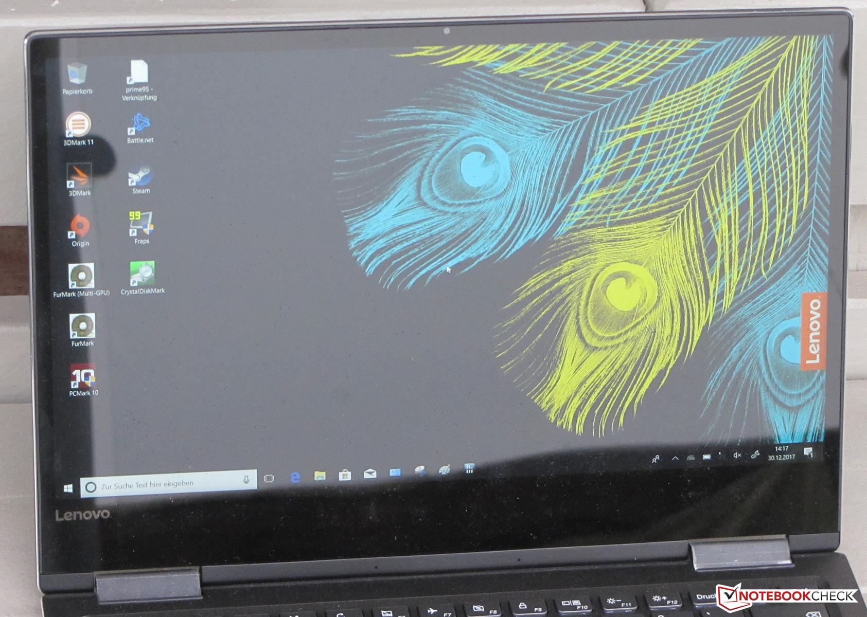 Lenovo Yoga 720-13IKB (i7-8550U, SSD, FHD) Convertible Review