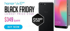 Honor View10 smartphone will be just $350 USD for four days only (Source: Honor)