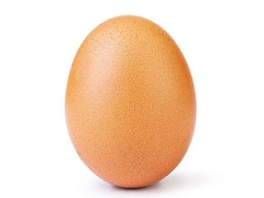 It's the most-liked egg in the world. (Source: Instagram)