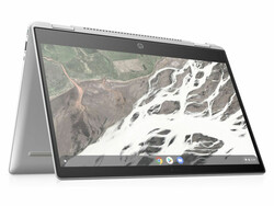 The HP Chromebook x360 14 (6BP67EA) convertible review. Test device courtesy of HP Germany.