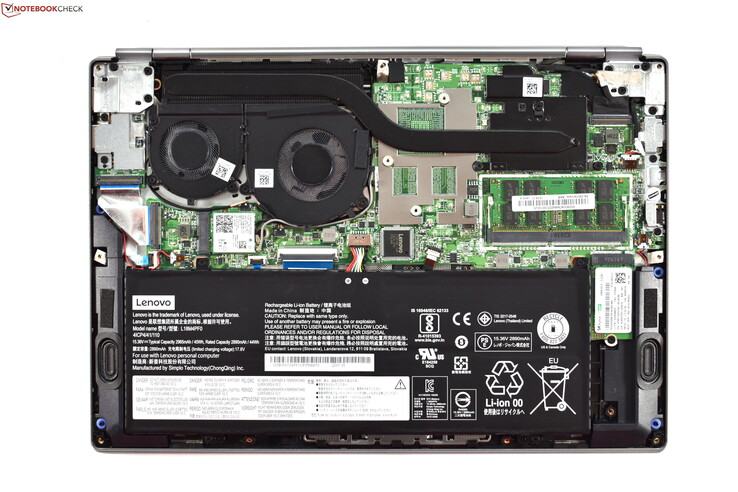 A look at the inside of the ThinkPad 13s-IWL