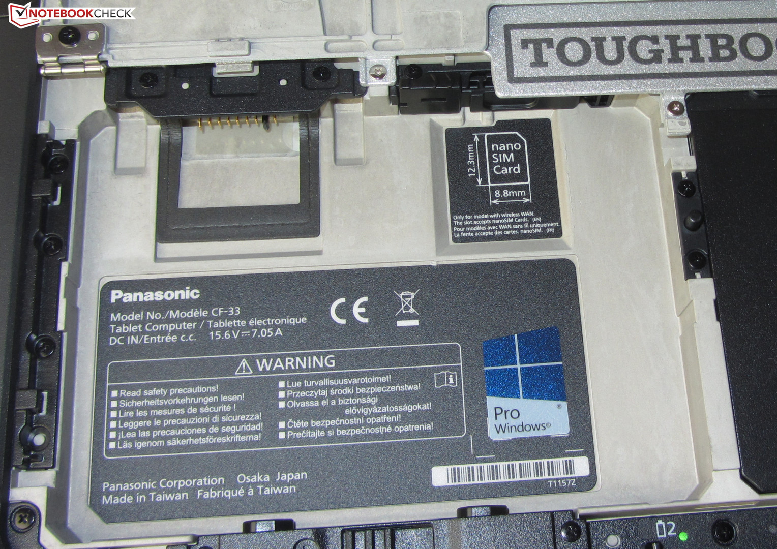 Panasonic Toughbook Cf 33 I5 7200u Qhd Convertible