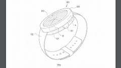 A diagram of the watch in the Samsung patent. (Source: USPTO)