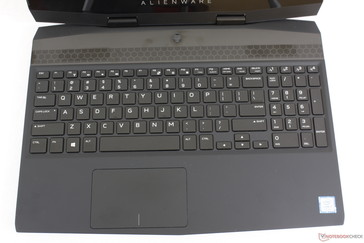 The Macro keys and layout have been changed almost completely from the Alienware 15 R4