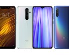 The POCO F1, Redmi Note 8 Pro, and Xiaomi Mi 9 have all had issues with MIUI 12-related battery drain. (Image source: Xiaomi - edited)