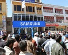 Samsung Experience Store in Leh at almost 12,000 feet