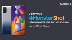 The Galaxy M31s may be headed for a new market. (Source: Samsung)