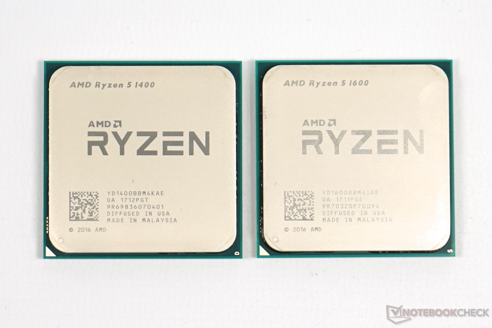 Ryzen 5 1400 And 1600 Review Notebookcheck Net Reviews