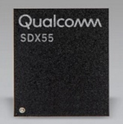The new Qualcomm Snapdragon X55 modem. (Source: Qualcomm)