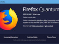Firefox Quantum 60 for Windows 10 - About window