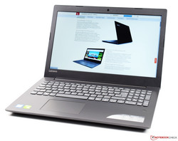 The Lenovo IdeaPad 320-15IKBRN, test unit provided by Cyberport