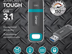 128 GB Lexar JumpDrive Tough ruggedized flash drive