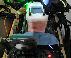 Serious overclockers always use copious amounts of liquid nitrogen. (Source: HWBot)