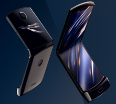 Looks like the Motorola Razr reboot is shaping up as the first hit for the company in years. (Source: Motorola)