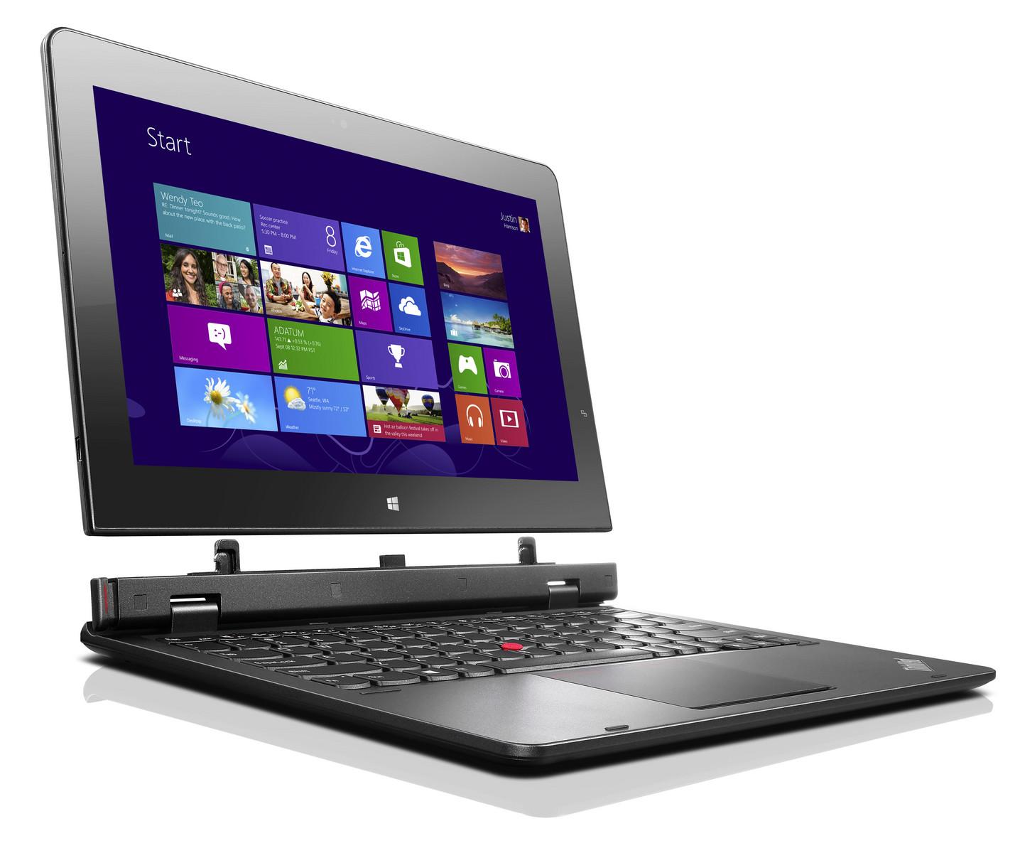 Lenovo Reveals Updated Thinkpad Helix Detachable And Edge