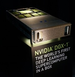 Mellanox provided Nvidia's DGX-1 with InfiniBand Host Channel Adapters. (Source: Mellanox)
