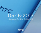 HTC has confirmed their next flagship, the HTC U 11, is coming on May 16. (Source: Android Headlines)