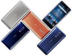 Nokia 8 Android flagship (Source: HMD Global)
