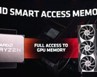 Smart Access Memory could deliver a performance boost to a wider range of hardware configurations (Image source: AMD)
