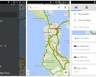 Google Maps 8.2 with enhanced voice controls and improved bicycle directions