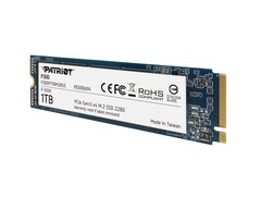 Patriot P300 M.2 PCIe SSD promises read rates of up to 1700 MB/s at prices as low as $50 USD (Source: Patriot)