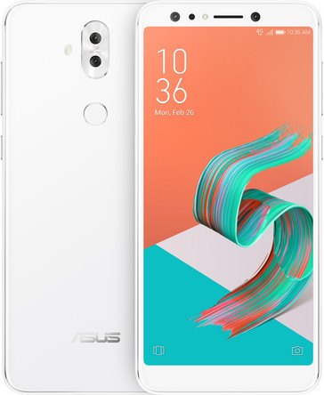 Asus ZenFone 5Q phablet in white (Source: Asus)