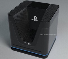 This PS5 concept seems to have been inspired by a throne. (Image source: @robo3687)