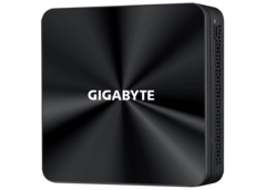 The upcoming BRIX mini PCs powered by Renoir APUs are coming with slim or tall cases. (Image Source: Gigabyte)