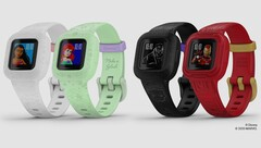 The vívofit jr.3 comes in multiple colours and styles. (Image source: Garmin)
